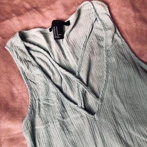 Light teal Forever 21 dress